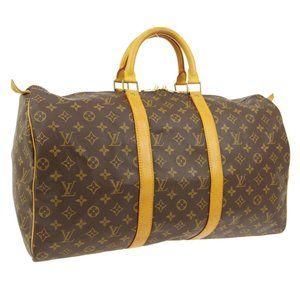 Louis Vuitton Keepall 50 Travel Hand #N2498V48O